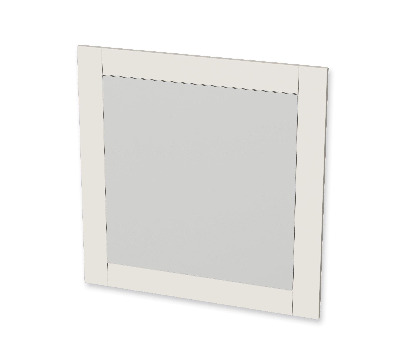 tiger frames spiegel 80x80cm ivoor. Black Bedroom Furniture Sets. Home Design Ideas