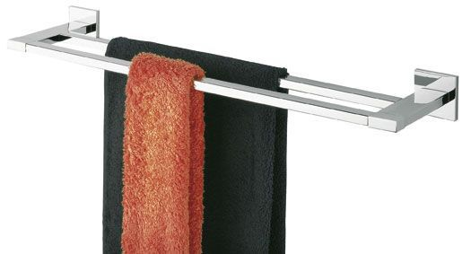 Tiger Items handdoekrek dubbel RVS