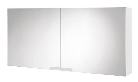 Tiger Items spiegelkast 105 x 50 cm, wit hoogglans