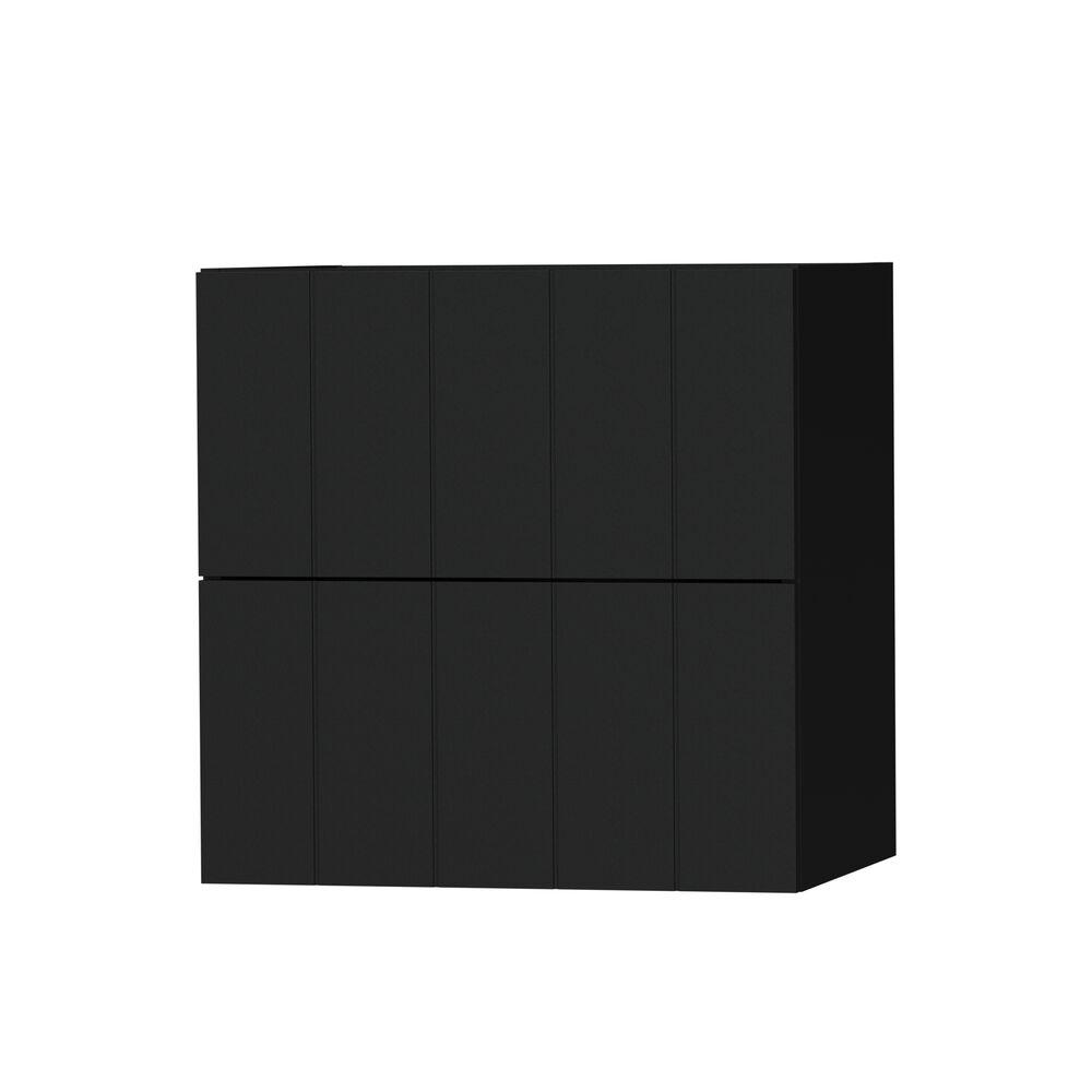 Tiger wastafelonderkast Maryport 60cm mat zwart