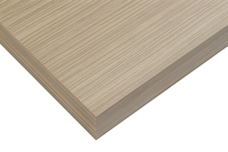 Tiger Ontario houten wastafelblad 105 cm zebrano light