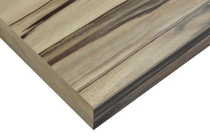 Tiger Ontario houten wastafelblad 55 cm tbv fontein art wood