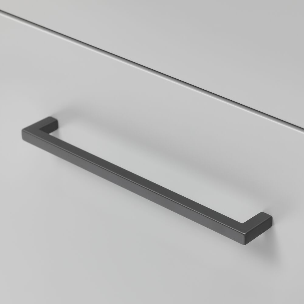Tiger S-line meubelgreep S02 20cm mat zwart