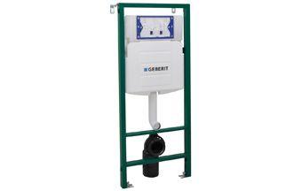 Walraven BIS Walkon® WC-element 2-knops m. reservoir en zelfdragend frame in hoogte/diepte verstelba