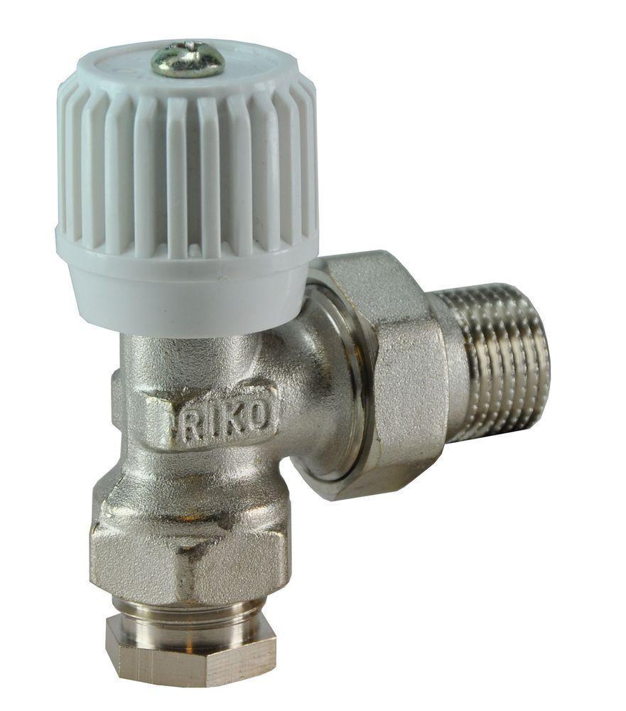 Wiesbaden Riko Radiator-ventiel+adapt.15mm 1/2haaks
