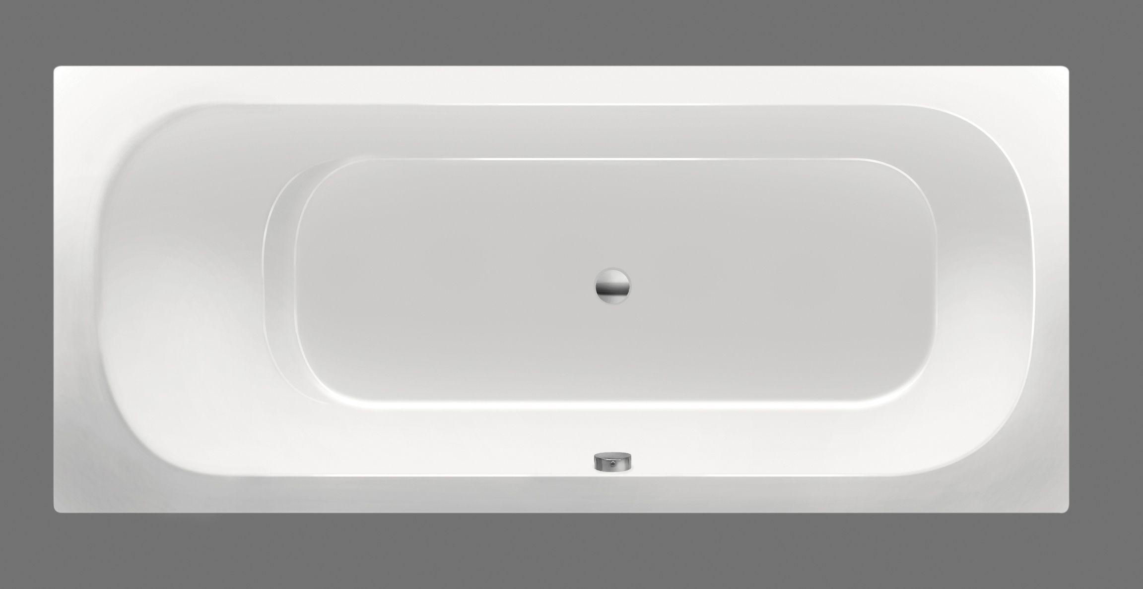 Xenz Aruba ligbad 180x80x45cm wit