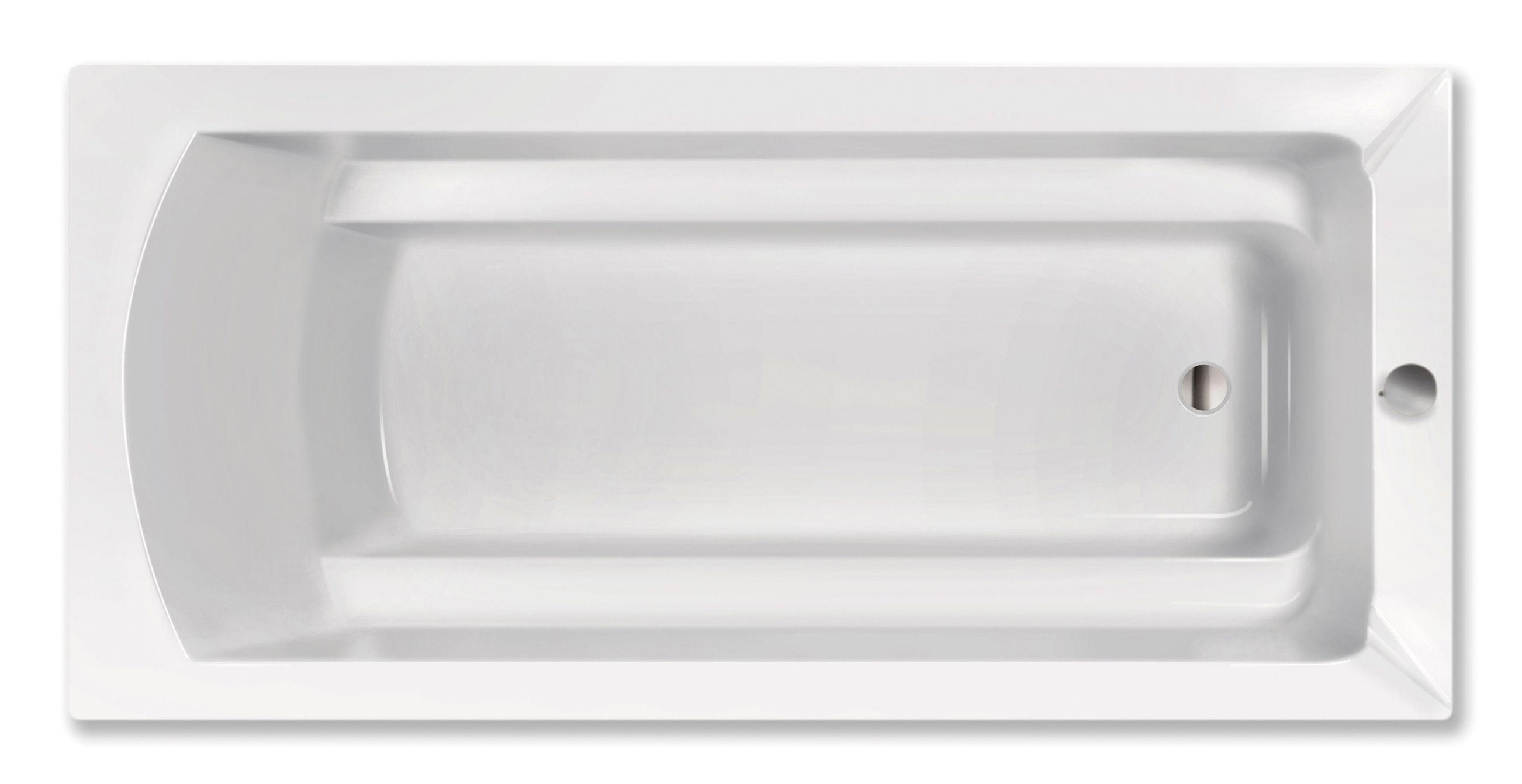 Xenz Bodysize douchebad 190x90x45cm crème