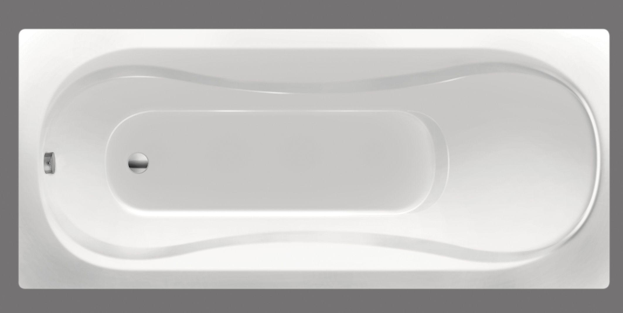 Xenz Bonaire douchebad 180x80x44cm wit