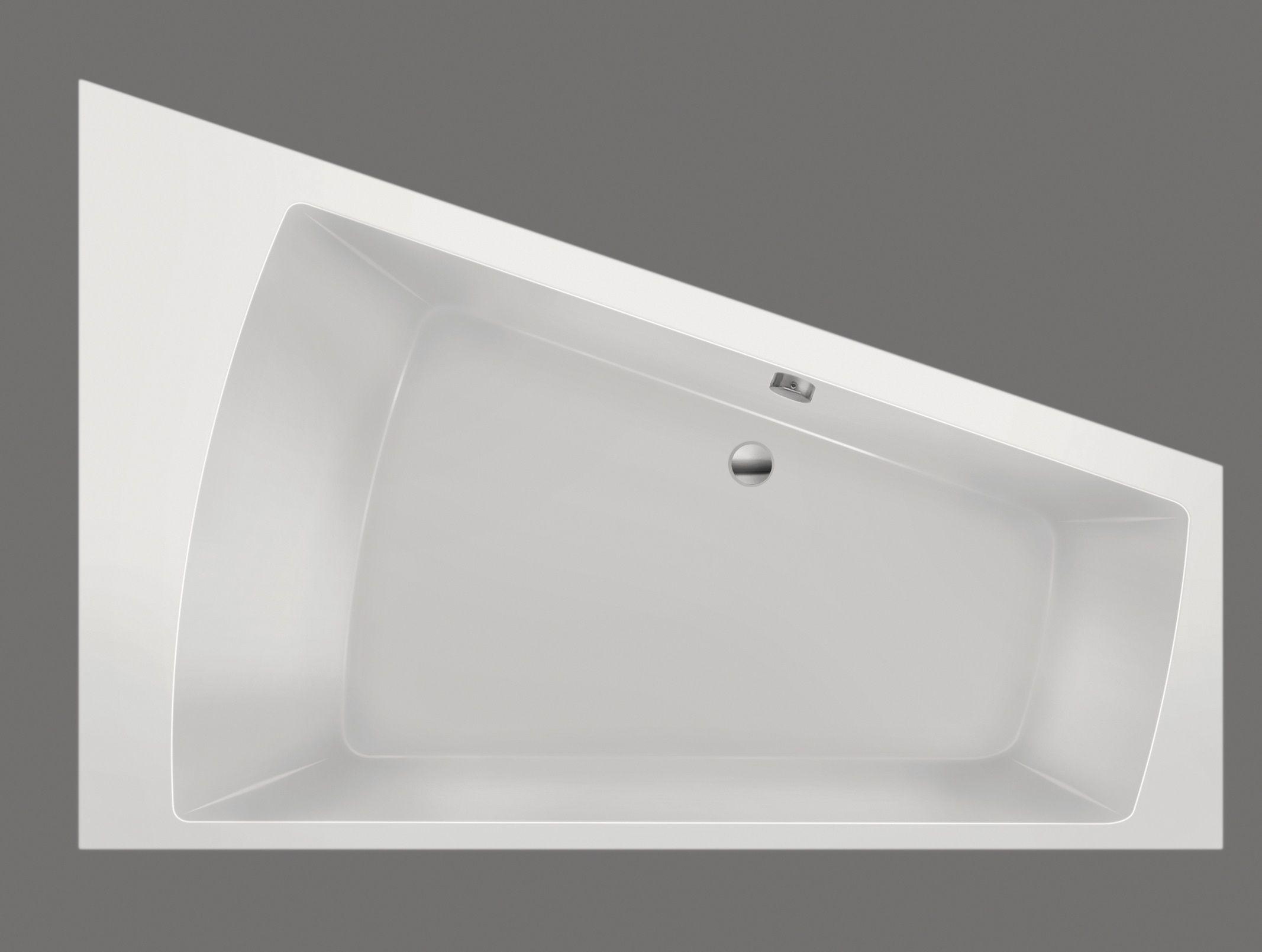 Productafbeelding van Xenz Palau hoekbad rechts 180x130x46cm bahama beige