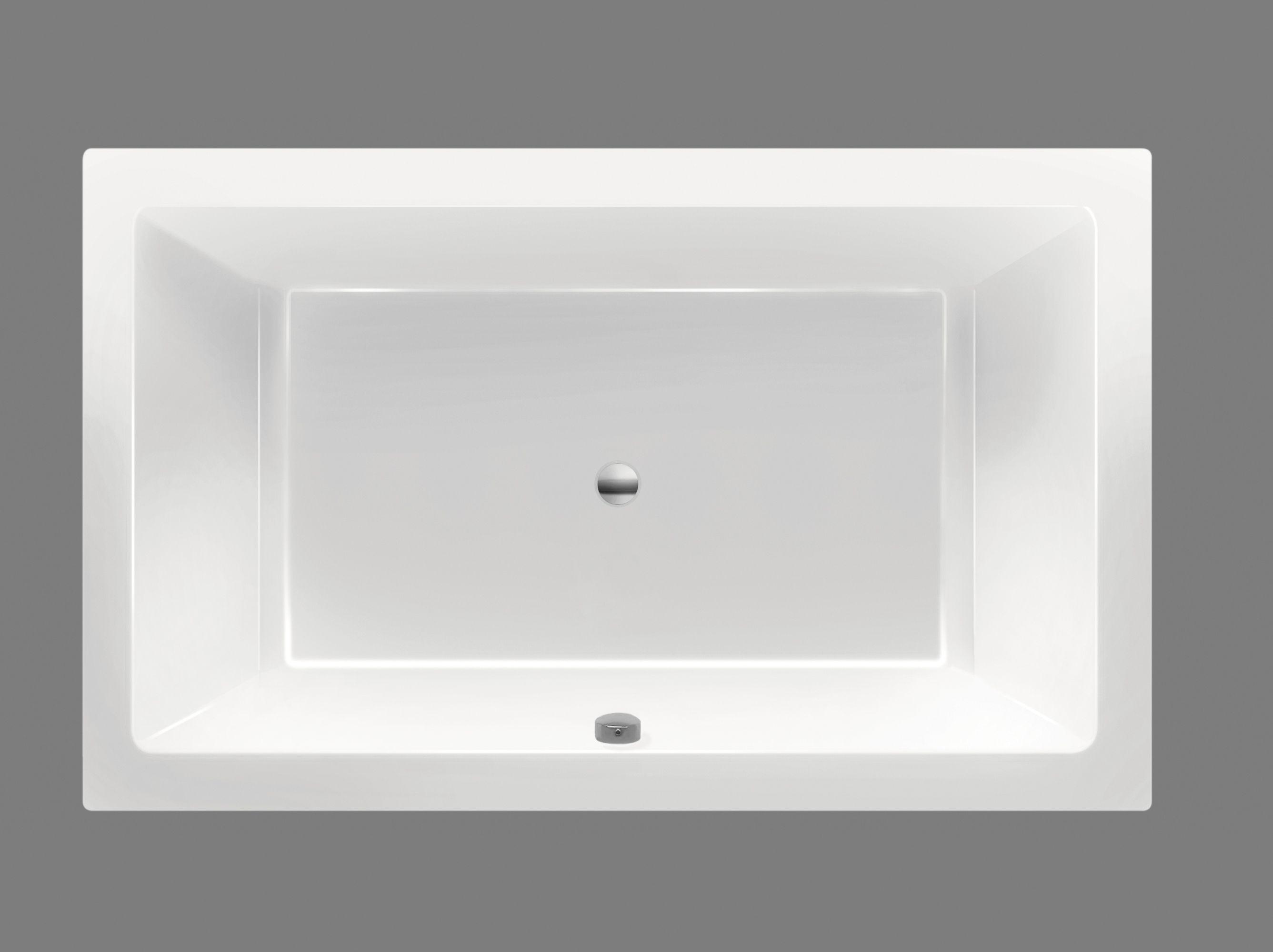 Xenz Society ligbad 190x120x50cm antraciet