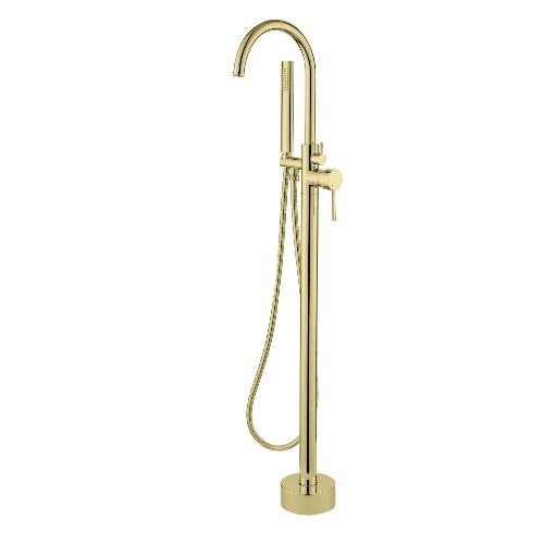 gouden badkraan