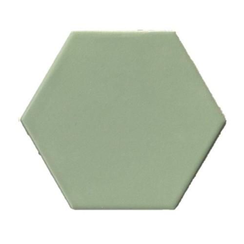 groene tegel hexagon