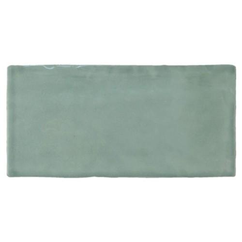 Groene keramiektegels
