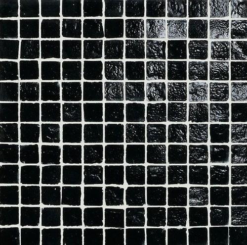 zwarte mozaiektegel