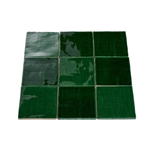 mozaïektegel groen
