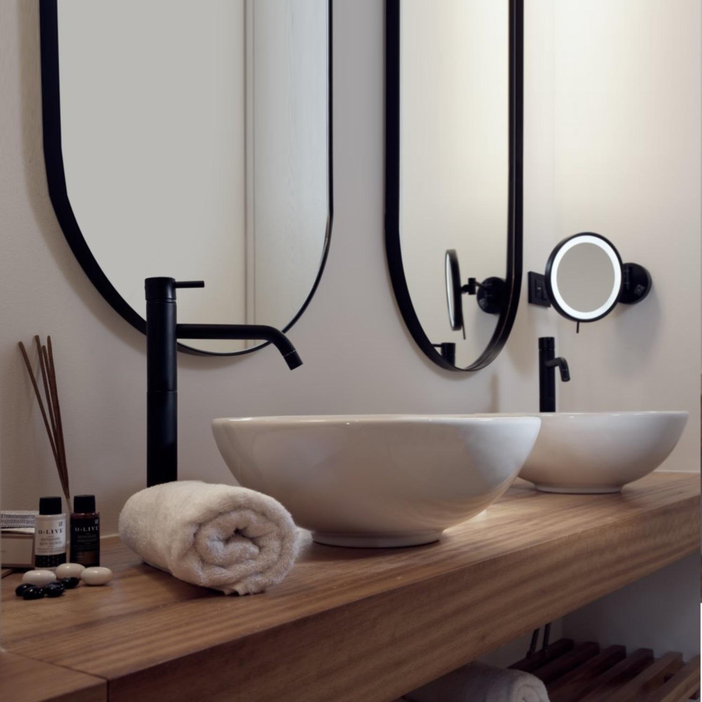 Kraan zwart badkamer