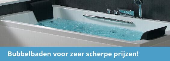 Wonderbaarlijk Zitbad kopen? Ideaal voor kleine badkamers! | Sanitairkamer.nl FF-65